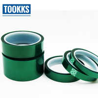 PET Tape High Temperature Heat Resistant Solder Green Tape For PCB Solder Plating Insulation Protection