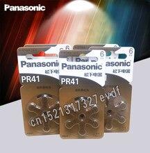 PCS 100% Genuíno Panasonic PR41 30 Baterias do Aparelho Auditivo 7.9 MILÍMETROS * 3.6 MILÍMETROS 312 Surdo-aid Botão Coclear baterias de celular Aud