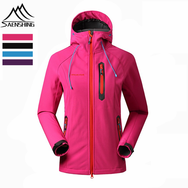 Aliexpress.com : Buy 2016 New Brand Women Hiking Softshell Jacket ...