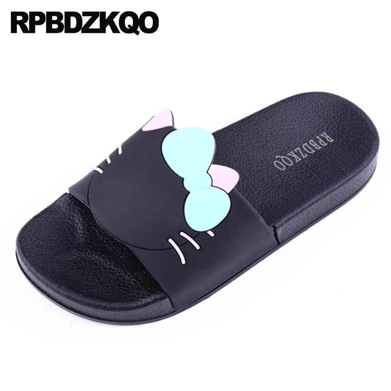 62fe7635659 sandals most popular products funny shoes guest 5 bathroom black cartoon  hello kitty house slides slippers