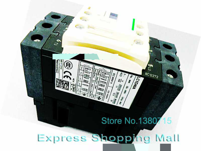 New LC1D40AQ7C Contactor TeSys D 40A AC 380V 50/60Hz LC1-D40AQ7C new cad32mdc dc220v tesys d series contactor control relay 3no 2nc