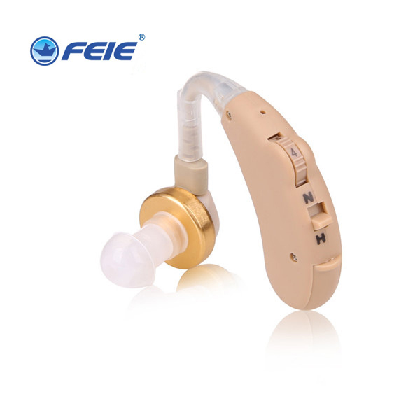 Powerful Hi-tech Soft Shell Legal China Product BTE Hearing Aids S-185 Free Shipping
