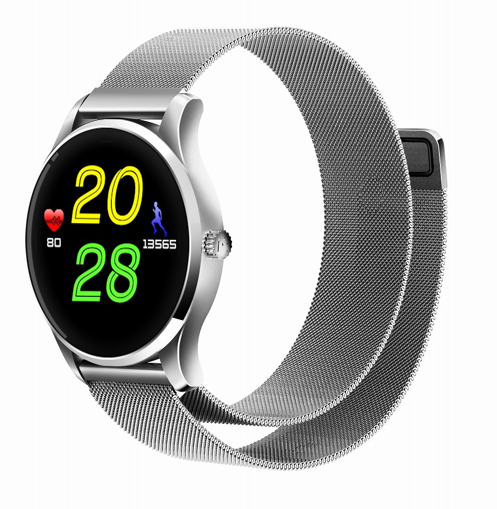 Kuddly K88 Smartwatch Bluetooth 4.0 Smart Wristwatch Waterproof IP65 Heart Rate Monitor Pedometer Fashion Watch for Androis IOS image