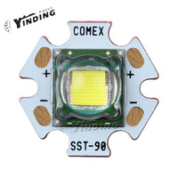 1PCS Luminus SST 90 30w Hight Power LED White/Warm White/Neutral white The stage lighting Medical equipment The light source
