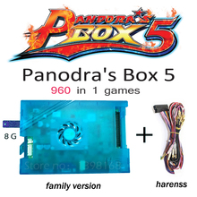 Pandora Box 5 960 in 1 Family Version Motherboard Accessories and Harness For Pandora's Box HDMI VGA USB Video game console