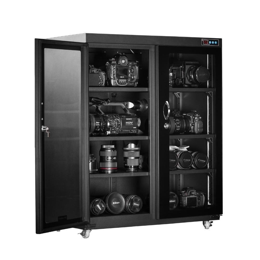 Alta Qualidade Horizontal Tipo Caixa Seca Armário Seco Eletrônico Com Super Capacidade de Caixa à prova de Umidade Automático-260 Litros