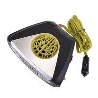 12V Car Defogger Air Purifier Heater Warmer Cold Car Electronic Fan Heater Defroster Snow Warm Wind Melter