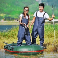 New Arrival Fishing Overalls Rafting Wear Waterproof Chest Waders for Fishing Protective Durable Hunting Waders Workwear