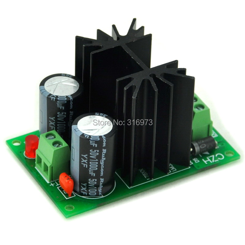 Positive 18V DC Voltage Regulator Module Board, High Quality.Positive 18V DC Voltage Regulator Module Board, High Quality.