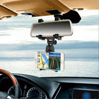 Mobile phone bracket for automobile rearview mirror Mobile Navigation Frame Vehicle Reversing Mirror  Universal multi-functional