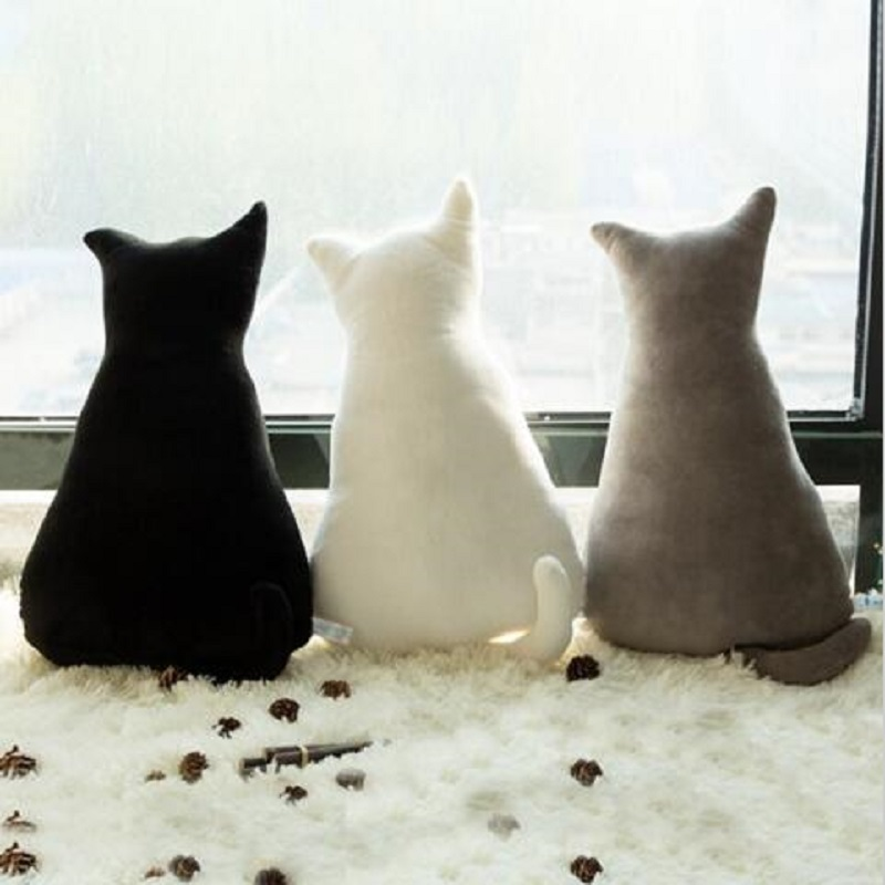 1pc 45cm υψηλής ποιότητας πίσω σκιά Cat - Βρεφικά παιχνίδια - Φωτογραφία 2