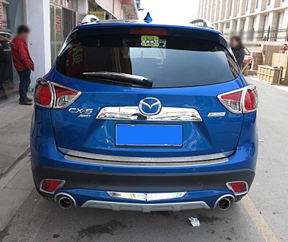 Automobile1 p car stickers tailgate trim car accessories for mazda cx