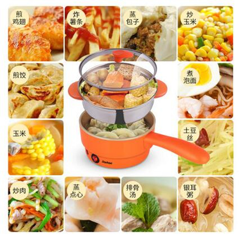 220V Automatic Electric Multi Cooker Pot With Steamer Frying Pan Plate Egg Boiler Machine Household Breakfast Machine Cooker