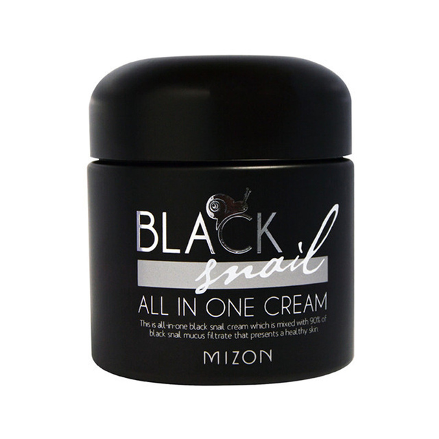 MIZON Black Snail All In One Cream 75ml Korea Cosmetic Face Cream Skin Care Moisturizers Nourish Anti-wrinkle Day Creams
