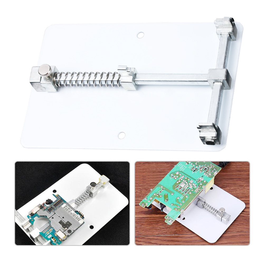 Detail Feedback Questions About Universal 812cm Pcb Holder Metal New Circuit Board Fixtures Repair Tablet And Cell Rework Station Fixture Motherboard For Mobile Phone Soldering Tool