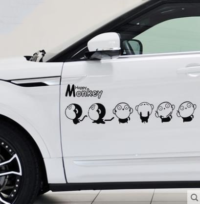 279 Ample Supply And Prompt Delivery Buy Cheap Monkey Car Sticker Personality Body Sticker Funny Car Sticker Creative Car Sticker Scratch Blocking Automobiles & Motorcycles Car Stickers
