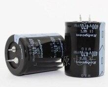 10 шт. 400 В 470 мкФ 470 мкФ 400 В электролитический конденсатор объем 30*50 35*45 35*50