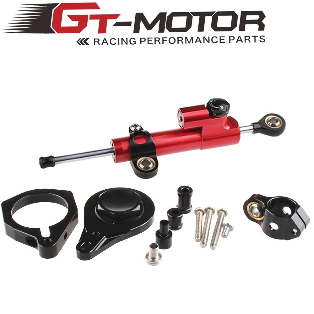 GT мотор - мотоцикл полный набор ЧПУ рулевой демпфер Stabilizerlinear Линейный Стабилизатор Кронштейн комплект для S1000RR 2010-2011