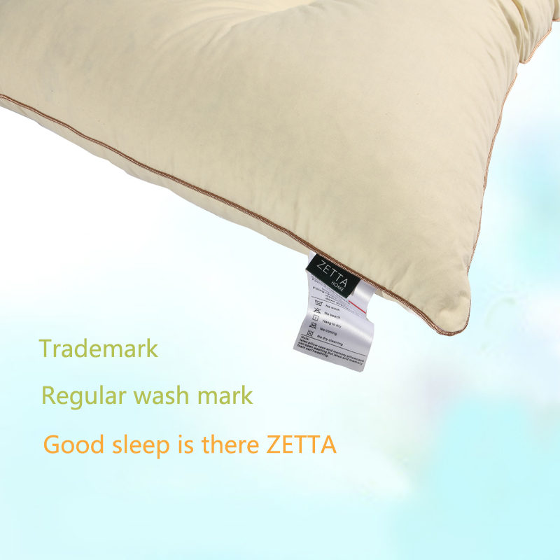 Купить с кэшбэком [ZETTA] Natural Latex Particles to Support Cervical Repair Memory Pillow to help sleep adult pillows ZTRJ0004