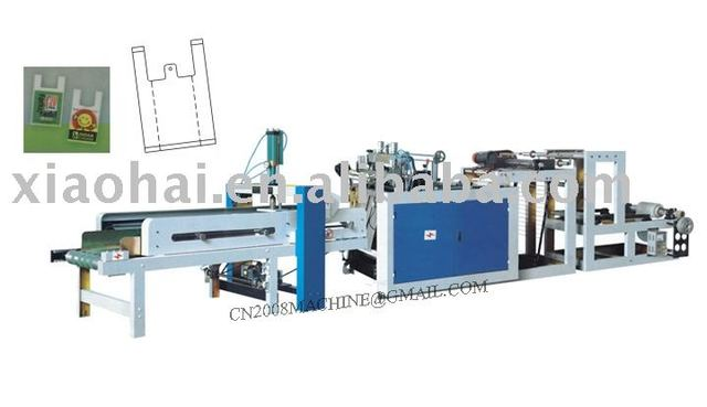 Computer control automatic shopping bag making machine