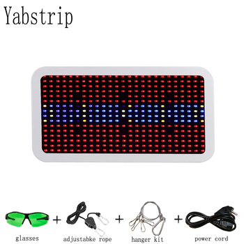 Yabstrip LED grow lamp for plant aquarium 400W full spectrums SMD 5730 LED growth light be used seeding flower vegetable potted r2w 6400p r 400w used disassemble