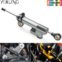 MT07 MT09 MT 07 09 R1 R6 Z750 Z800 Z1000 Universal Motorcycle Stabilizer Damper Complete Steering Mounting For Yamaha Kawasaki