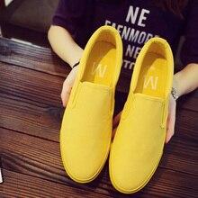 Men Casual Shoes Black Yellow Flats Men Shoes Walking Spring Autumn Slip on Man Fashion Footwear Zapatillas Hombre