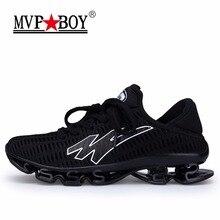 MVPBOY Người Đàn Ông của Giày Chạy Springblade Sneakers Đệm Giày Thể Thao Ngoài Trời cho Nam Hạng Nhẹ Giày Thể Thao Nam cộng với kích thước