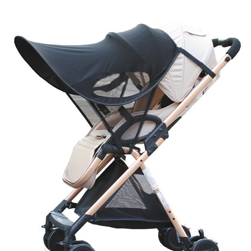 Sun Visor Carriage Sun Shade Canopy Cover For Baby Prams Stroller Buggy Pushchair Cap Hood AN88