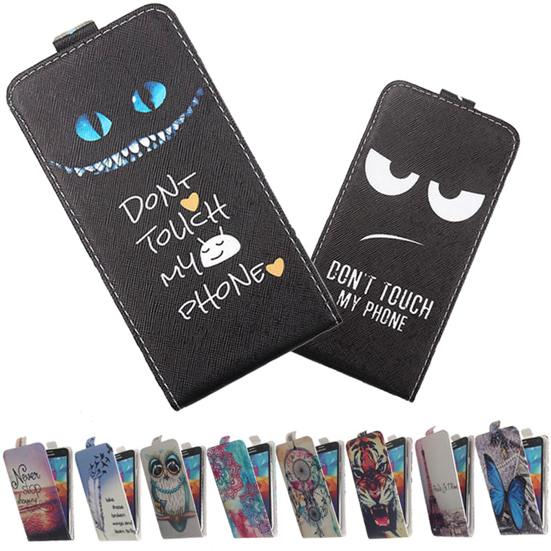 For DEXP Ixion ES 3.5 4 4.5 M 5 ML 4.5 4.7 5 MQ 3.5 MS 5 XL 5 Phone case Painted Flip PU Leather Holder protector Cover