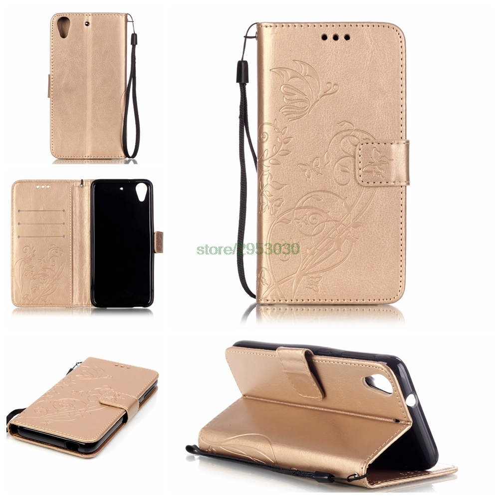 Case for coque HTC 626 Case Cover for coque HTC Desire 626 Cover Case 626G 626G+ 626D 626W + Strap Stand Card Holder