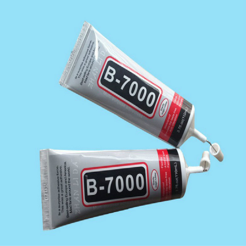 B7000 110ml MultiPurpose B-7000 Industrial Adhesive Jewerly Craft Rhinestone And Nail Gel Diy Phone Frame Fix Screen Glass Glue 1 tube b7000 diy 25ml b 7000 multipurpose adhesive jewelry rhinestones craft fix touch screen middle frame housing glass glue