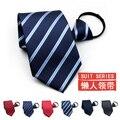 2016 новое поступление мужские галстуки деловой костюм стяжку легко вытащить ленивый галстук подарочной коробке связей для мужчин gravata