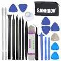 Sanhooii 22in1 모바일 휴대 전화 수리 화면 열기 도구 키트 금속 spudger pry 테이블 tv 상자 장난감 게임 콘솔 수리 도구