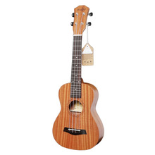 21/23 Inch Beginner Brown Sapele Ukulele 4 Strings Clear Tone Professionals Great for Parties Formal Occasions Home
