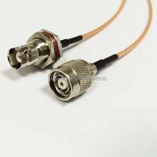 New Modem Coaxial Cable  RP-TNC  Male Plug Switch  BNC  Female Jack  Connector RG316 Cable Pigtail  15CM 6″ Adapter