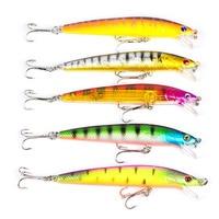a919bf699 NEW 43 Pcs Set Minnow Fly Fishing Lure Sets Hard Bait Lures Wobbler Carp 6  Models