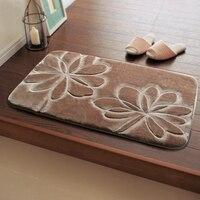 花印刷浴室の敷物マット