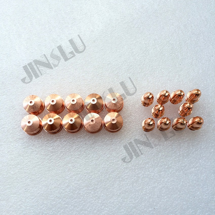 OEM Trafimet A141 A101 Consumables Electrode PR0101 10PCS &  Nozzle / Tip PD0101 ( 1.1 1.4 1.7 1.9mm ) 10PCS