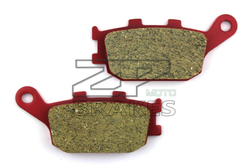 Motorcycle parts Ceramic Brake Pads Fit HONDA CB 900 F2-7 Hornet 2002-2007 Rear OEM NEW Red Composite Free shipping motorcycle brake pads for honda cb 600 fw fx hornet 1998 1999 front rear oem new carbon ceramic composite high quality zpmoto