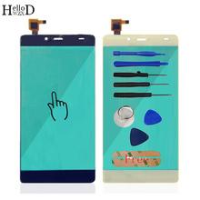 HelloWZXD For Elephone S3 Touch Screen Glass Tested Front Glass Digitizer Panel Lens Sensor Flex Cable Tools + Adhesive Gift