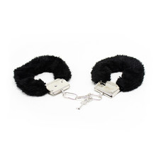Erotic Sexy Accessories With Adjustable Plush Bundle Handcuffs For Slave Fetish