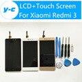 ЖК-Дисплей + Сенсорный Экран Для Xiaomi Redmi 3 Новые Прибыл Панели Замена Для Xiaomi Redmi 3 1280X720 HD 5.0 дюймов