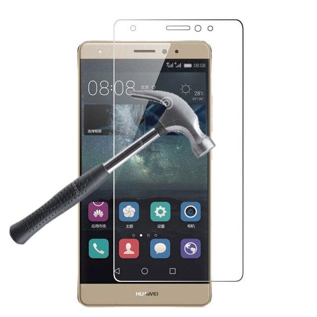 "De Calidad superior 9 H 0.26mm LCD Clear Frente Protector de Pantalla de Cristal Templado película para huawei mate s/huawe mate 8 5.5 ""pulgadas"