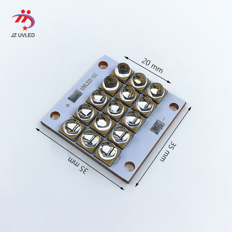 150W LED UV Module for Ultraviolet gel ink curing lights 3D photosensitive resin printer cure quartz 365nm 395nm UV Lamp beads