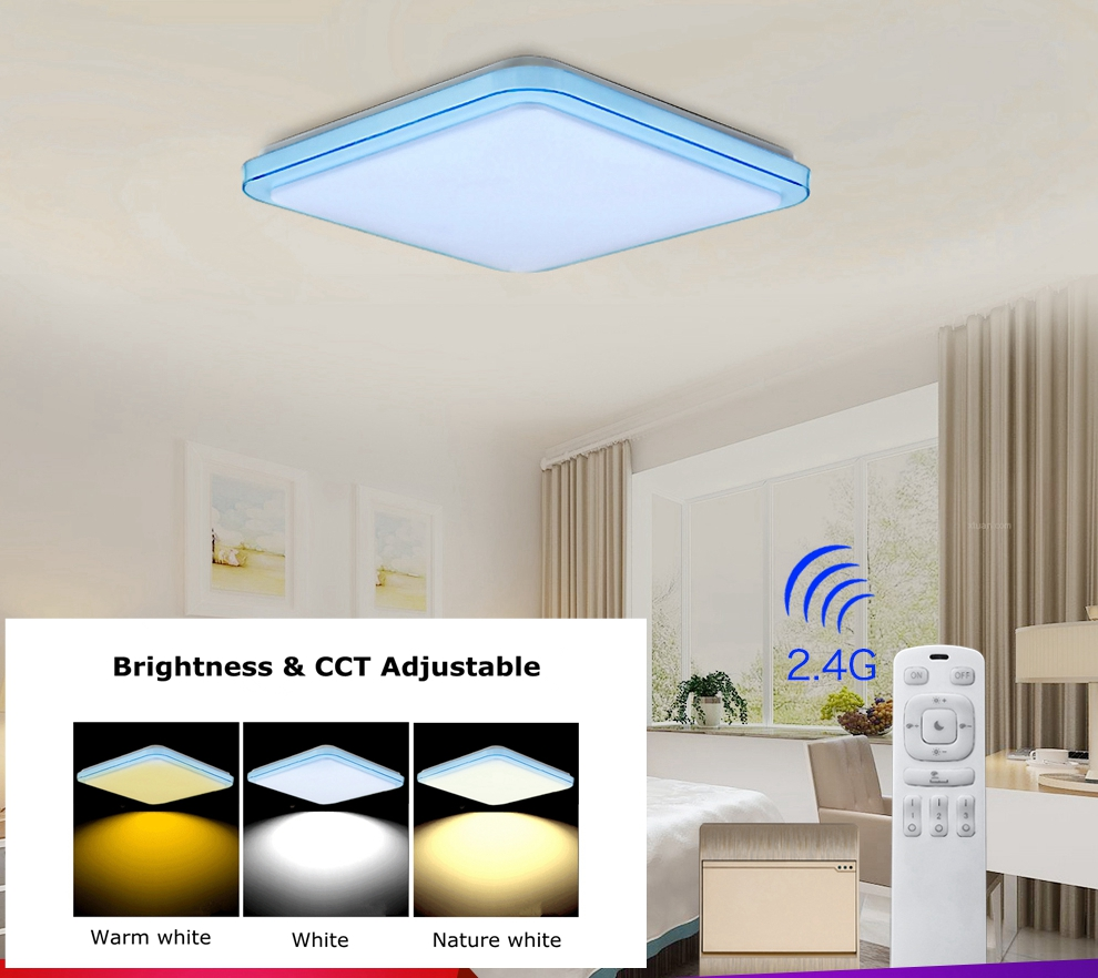LED lamparas de techo lampada led lamp dimmable bed room lighting plafondlamp lamparas techo