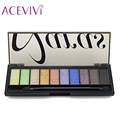 10 Colors Smoky Eye Shadow Palette Eyeshadow Shadow Shade for Eyebrows Makeup Set Glamorous Eyeshadow Palette