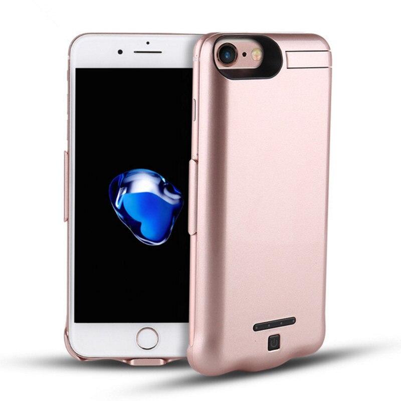 imágenes para Aekuy 10000 mah caso del cargador de batería de reserva externa para iphone 7 plus caso caso cubierta del teléfono celular para iphone7 más poder charg