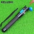 KELUSHI 1 mw 1-5 KM de Metal Fibra Óptica Visual Fault Locator Fibra Óptica Cable Tester ferramenta