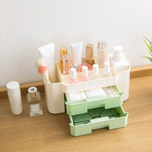 Cosmetic storage box dressing box Cosmetics with drawer fini
